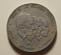 Dominicana 1/2 Peso 1984 - Dominicaine