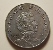 Mexico 5 Pesos 1971 - Messico