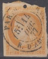 #133# COLONIES GENERALES N° 13 Oblitéré Cachet Français Paris Rue D'Amsterdam - Cérès