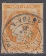 #133# COLONIES GENERALES N° 13 Oblitéré Cachet Français Puy-en-Velay - Cérès