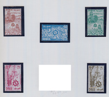 SYRIE     1957              PA    N°   115 / 119        COTE   6 € 00 - Syrie