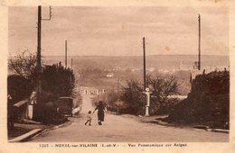 Noyal - Sur  Vilaine -    Vue  Panoramique  Sur  Acigné. - Altri Comuni