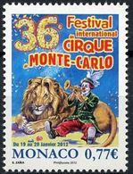 "Monaco YT 2808 "" Festival Du Cirque "" 2011 Neuf** - Monaco"