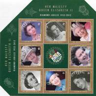 Lote Be5, Belize, 2012, HF, SS, Queen Elizabeth II, Diamond Jubilee 1952-2012, Woman - Belice (1973-...)
