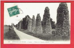 LUYNES 1908 RUINES DE L AQUEDUC ROMAIN CARTE EN BON ETAT - Luynes