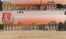 78 - Yvelines - Versailles - Casernes D'Artillerie - Du Génie - Carte Colorisée - Versailles