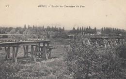 78 - Yvelines - Versailles - Génie - Ecole De Chemin De Fer - Versailles