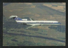 Kuwait Airways Picture Postcard Boeing 727 Jumbo Jet Airplane View Card - Koweït