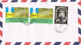 31006. Carta Aerea ZACAPA (Guatemala) 1980 A España - Guatemala