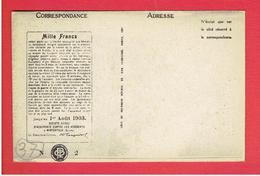 LUYNES 1903 LA BRENNE PUBLICITE DE LA SOCIETE SUISSE D ASSURANCE CONTRE LES ACCIDENTS WINTERTHUR CARTE EN TRES BON ETAT - Luynes
