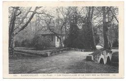 78 - Rambouillet - Le Parc - Les Coquillages Et Le Pont Sur La Rivière - Ed. LL N° 121 - 1915 - Rambouillet (Château)