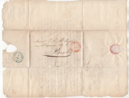 Précurseur Envoyé De Malines Vers  Bruxelles En 1849. Je N'y Connais Pas Grand Chose - 1830-1849 (Belgique Indépendante)