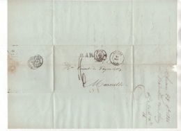 Précurseur Envoyé De Anvers Vers Marseille En 1846. Je N'y Connais Pas Grand Chose - 1830-1849 (Belgique Indépendante)