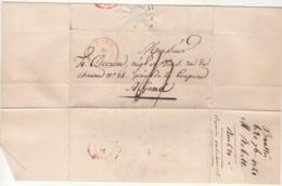 Précurseur Envoyé De Boussu Vers Gand En 1841. Je N'y Connais Pas Grand Chose - 1830-1849 (Belgique Indépendante)