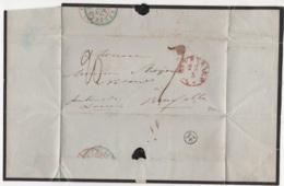 Précurseur Envoyé Des Pays-Bas Vers Bruxelles En 1850. Je N'y Connais Pas Grand Chose - 1830-1849 (Belgique Indépendante)