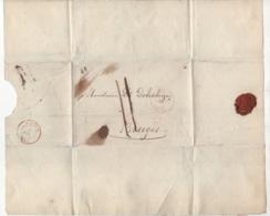 Précurseur Envoyé De ?? Vers Bruges En 184?. Je N'y Connais Pas Grand Chose - 1830-1849 (Belgique Indépendante)