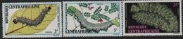 République Centrafricaine - 1973 Insects-Insectes-Insekten-Chenilles-Larvae/Larves ** - Centraal-Afrikaanse Republiek