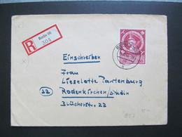 DR Nr. 887, 1944, R-Brief, EF, Stempel Berlin W66 *DEL2159* - Germany