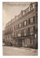 CPA 70 LUXEUIL Hôtel Du Lion Vert A. GRILLE Propriétaire Téléphone 11 - Luxeuil Les Bains
