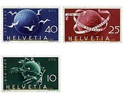 Ref. 595763 * HINGED * - SWITZERLAND. 1949. 75th ANNIVERSARY OF UNIVERSAL POSTAL UNION . 75 ANIVERSARIO DE LA UNION POST - Switzerland