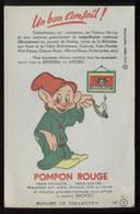 Buvard Pompon Rouge Disney Simplet - Non Classés
