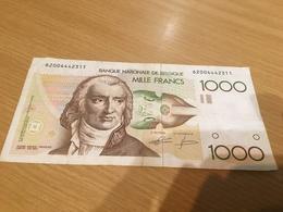 Belgique, 1000 Francs Type Gretry, Non Daté (1980-96) - Belgique