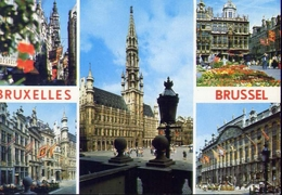 Bruxelles - 100-210 - Formato Grande Viaggiata – E 9 - Belgio