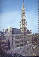 Bruxelles - Grand' Place - Hotel De Ville - Formato Grande Viaggiata Mancante Di Affrancatura – E 9 - Belgio