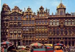 Bruxelles - La Grand Place - Formato Grande Viaggiata – E 9 - Belgio
