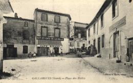 30 - Gard - Gallargues - Place Des Halles - C 3110 - Gallargues-le-Montueux