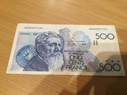 Belgique, 500 Francs Type Meunier - Belgique