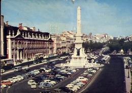 Lisboa - Place Des Restauradores - Formato Grande Viaggiata – E 9 - Lisboa