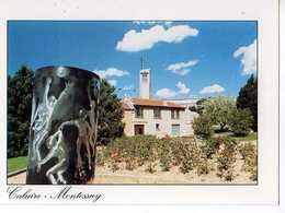 69  CALUIRE MONTESSUY Eglise Ste Bernadette  Et Jardin De Montessuy, Sculpture De Mick Micheyl, Photo Astruc - Caluire Et Cuire