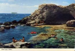 Malta - Ghar Lapsi - Formato Grande Viaggiata Mancante Di Affrancatura – E 9 - Malta