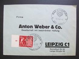 DR Nr. 863, 1944, Brief, EF, Sonderstempel Bad Salzuflen *DEL2166* - Germany