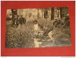 ARMEE BELGE - Régiment Des Carabiniers - Passage Des Mitrailleuses  - (2 Scans) - Régiments