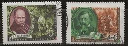 Russie 1957 N° Y&T :  1935 Et 1936 Obl. - Usados