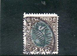 ISLANDE 1931-4 O - Gebraucht