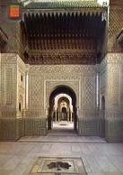 Casablanca  Patio Arabe - Palacio De Tribunale - Formato Grande Non Viaggiata – E 9 - Casablanca