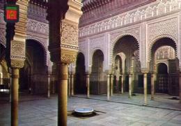 Casablanca - Patio Arabe - Palacio De Justicia - Formato Grande Non Viaggiata – E 9 - Casablanca