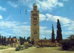 Marrakech - La Mosquee Koutoubia - Formato Grande Viaggiata Mancante Di Affrancatura – E 9 - Marrakech