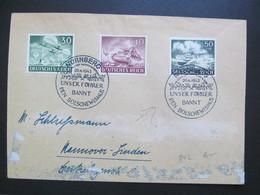 DR Nr. 840-842, 1943, Brief, MiF, Sonderstempel Nürnberg Führer  *DEL2171* - Germany