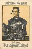 -ref-B399- Guerre 1914-18 - Illustrateurs - Illustrateur - Michel Bleib'eisern - Zeichne Kriegsanleihe - Allemagne - - Guerre 1939-45