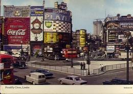 Piccadilly Circus - London - Formato Grande Viaggiata – E 9 - Piccadilly Circus