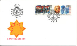 Norway FDC 18-2-1988 Salvation Army Complete Set With Cachet - FDC