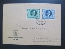 DR Nr. 834-835, 1943, Brief, MiF, *DEL2174* - Germany