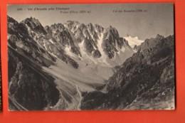 VAB-18 Val D'Arpette Près De Champex. Pointe D'Orny Tampon Champex 1912. Phototypie 2096 - VS Valais