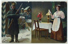 (032..766) Militär, Uniform, Liebe, Heimat, 1910 - Heimat