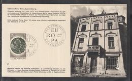 Éditions Tony Krier Luxembourg 1972 - Maison Natale De Robert Schumann - Maximum Cards
