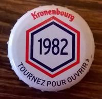France Capsule Bière Crown Cap Beer Kronenbourg Les Années Qui Comptent 1982 - Bière